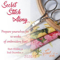 secret stitch along 2020 / 2